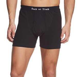 Back on Track Boxer pour homme XXXL Noir – Noir