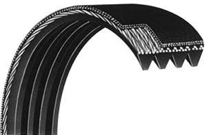 Courroie Striée 373PJ4 dents élastique pour Mini-Compresseur / Marque : Looxe > Exigez la Qualité