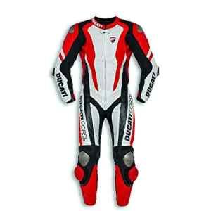 Ducati 9810445 Combi Sport Racing Leather Suit Combinaison de kangourou en cuir