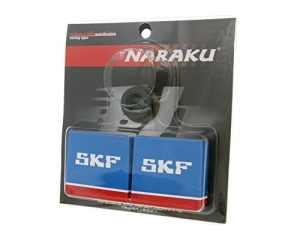 Jeu de roulements de vilebrequin NARAKU SKF pour PEUGEOT Speedfight 1 50cc, 2, Splinter, Squab, SV