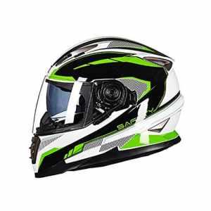 MagiDeal Homme Casque Moto Équipement de Portection Motard Coussin Intérieur Casque de Sécurité – Style 4-XL