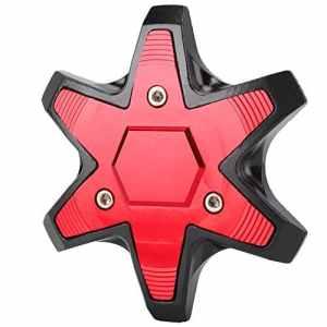 Aramox Couvercle de fourche avant de moto, Universal CNC en aluminium Couvercle de curseur anti-collision pour moto de fourche avant