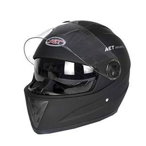 Casque de moto intégral KATURN – Double visière – Quatre saisons – Extracteur d'air – Pour homme et femme