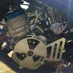 Easyboost Couvercle Allumage Cache Pignon Derbi Euro 3 Carter D50B0 DRD Senda Bultaco Gilera – Conçu pour les Runs Protéger Rotor Externe et Interne MHR PVL Stage6 MVT Italkit – Fabriqué en FRANCE