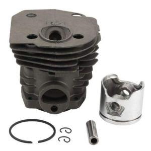 Kit de reconstruction de piston WANWU, tête de cylindre, 44 mm (basse), goupille et bagues, pour tronçonneuse Husqvarna 346XP 350 351 353