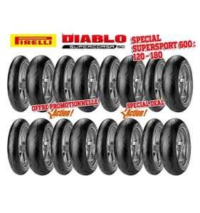 Pack pirelli racing – 8 trains de pneus diablo supercors… – Pirelli 5760030005