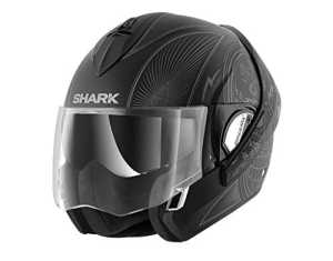 Shark Casque Moto Evoline Series 3 Mezcal MAT KAS, Noir, Taille M