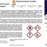 Vernis conducteur d'argent (150 ml) – Vernis-aérosol avec des particules d'argent pur – EMV Shielding – rendre les surfaces conductrices