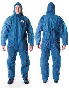 Combinaison de protection 3M™ 4500 bleu, taille L