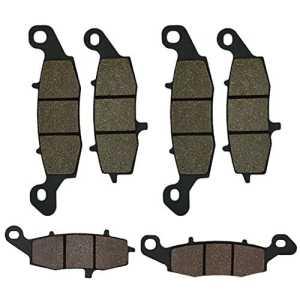 Cyleto Plaquettes de frein avant et arrière pour Kawasaki Zr-7Zr7Zr750199920002001200220032004/Zr7-s Zr7s ZR 75020012002200320042005