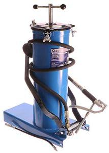 Geko G01123à pied Pompe à graisse haute pression, Bleu