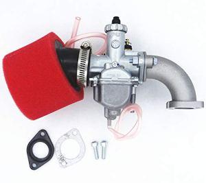 HuoPu VM22 Mikuni Collecteur d'admission de carburateur 26 mm avec filtre à air et bagues