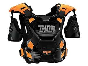 Pare-pierre THOR Sentinel Guardian – Noir / Orange – Gamme 2017 – Orange – XL/XXL