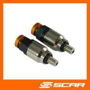 Purgeur d'air – Purge de fourches SX SXF EXC EXCF 65 85 125 150 250 350 400 450 – Valves SCAR – Orange