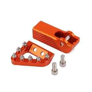 Un Xin Moto CNC Orange Pédale de Frein Shifter Levier Renforcent la Pointe pour KTM Factory éditions SXF XCF 250350450SX125150Tous Les 125–500