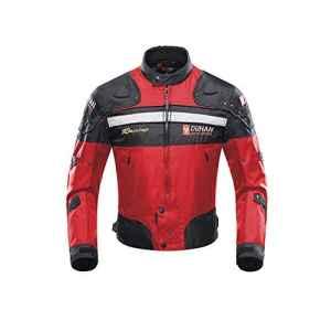 Veste de Moto, Blouson Moto Homme Sport avec Armure pour l'automne Hiver