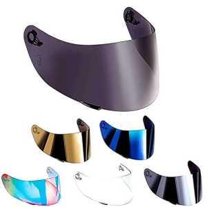 Visière non originale, compatible avec casque AGV K3 SV, K1, K5, K5-SV, K5S Horizon, Skyline, Strada, Numo, GT-2, taille XXS-XS-S-MS-M-ML-L-XL-XXL TAGLIA UNICA Arcobaleno