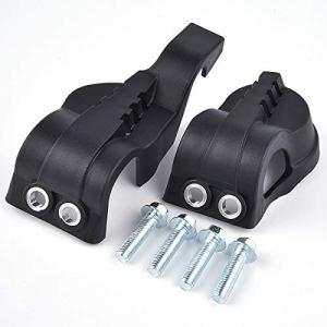 Wingsmoto Protège-cache de protection pour fourche WP pour Husqvarna FE FC TE TC 125 250 300 350 EXC Motocross Dirt Pit Bike Noir
