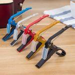 Accessoires Alliage d'aluminium Guitare Accordeur Pince Clé de déclenchement professionnelle Capo pour Acoustique Électrique Instruments de Musique
