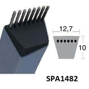 Contitech SPA1482 Courroie Trapézoidale Continental
