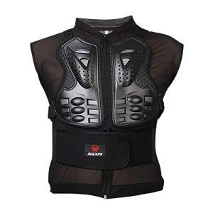 Dkhsy Hommes Femmes Moto Gilet Protecteur de Dos sans Manches Équipement de Protection Racing Skateboarding