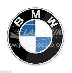 Exclusif Adhésif Rond Résine 3d Logo BMW pour Auto et Moto Diamètre 50 mm New