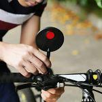Fantasyworld Miroir vélo Universel vélo Guidon Flexible arrière Vue arrière Miroir réglable Rétroviseur pour vélo VTT Miroir
