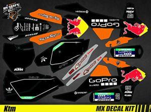 Kit Déco Moto/MX Decal Kit KTM Sx SxF – GoPro Black Edition