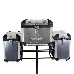 Lextek Aluminium Complete Luggage Set 109L Argent (ALUBXKIT018)