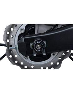 Motodak Protection de Bras oscillant R&G Racing Noir Honda CB125R