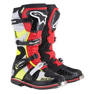Alpinestars Tech 8 RS Boots-black/rouge/Yellow-8
