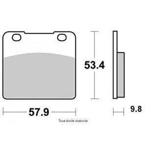 KYOTO Plaquette Semi-métal S1006B