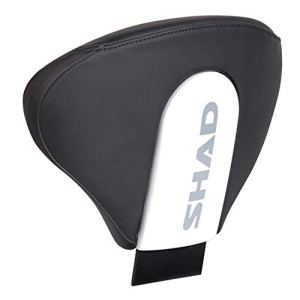 SHAD D0RP08 -Shad Backrest Shad Style dossier de haute qualité pour motos – 2014 Blanc