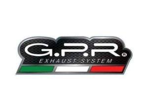 GPR Italia – SCOM.95.4RT – Pot d'échappement homologué, avec raccord Yamaha X-Max 1252006/14, modèle 4Road Round