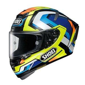 Shoei X-Spirit 3 Brink Casque de Moto intégral Jaune L (59-60cm)