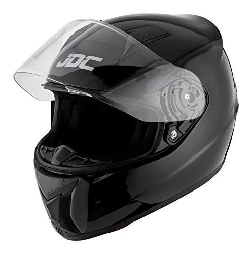 JDC Casque Moto Intégral – Prism – Noir – S