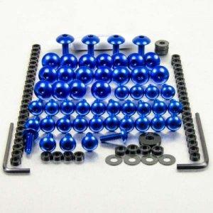 Kit visserie carénage en aluminium 1098/848 Bleu