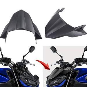 Pour Yamaha FZ 09 MT-09 MT09 2017-2019 Moto Accessoires Protège Moustiquaire Protecteur D'écran Avant Fender Bec Nez Cône Extension Extension Couvre-Roue
