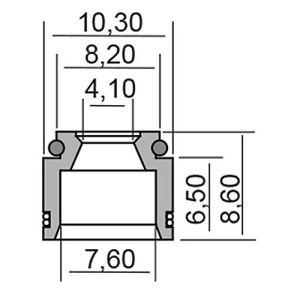 RMS paraolio Suzuki (paraoli)/valve stem Oil Seal Suzuki (Oil Seals)