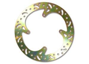 EBC disque de frein à disque en acier au carbone (traitement thermique) ø = 282 mm/rigide de disque de frein (doré)