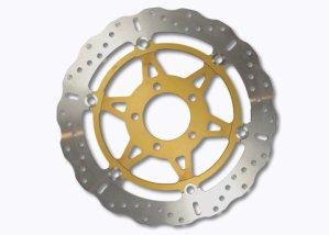 EBC Disques de frein INOX XC-Disc/acier inoxydable Disque de frein flottant avec un Aluminium-Bague intérieure