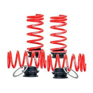 H&R HR 230092 Système de Ressort réglable en Hauteur Porsche 911 (Carrera GTS 2WD 2012-AV15-35/AR20-40mm, Rouge