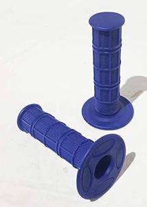 ORANGE IMPORTS GRI09 Lot de poignées en caoutchouc souple Bleu 22 mm pour Dirt Pit Bike