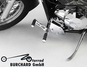 Usine 12cm anticipative Repose-pieds pour Honda VTX 1300SC52avec TÜV