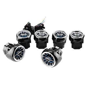 Évent LED de lampe à lumière ambiante pour sorties d'air lampe 64 couleur 6pcs adapté pour E-Class