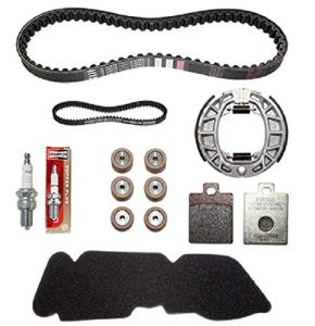 KIT ENTRETIEN SCOOT ORIGINE PIAGGIO 50 ZIP 2T 2000>, VESPA 50 LX 2T 2005> -497388-