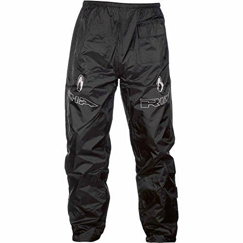 7RW100/5XL – Richa Rain Warrior Motorcycle Over Trousers 5XL Black (42)