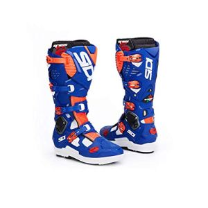H&Y Bottes de Motocross Tout-Terrain Chaussures d'équitation Moto Bottes d'équitation de Rallye Homme Bottes Tout-Terrain Imperméables,45