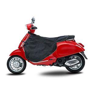 KKmoon Tablier Coupe-Vent de Scooter Électrique, Scooter Tablier Couverture, Tablier de Velours Épais pour Moto Électrique, Protège Jambes et Genouillère en Hiver pour Conducteur