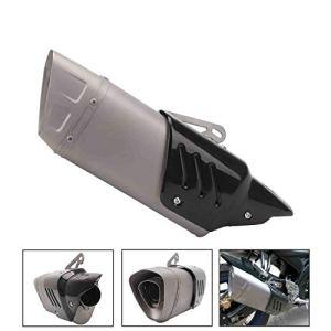 SamES Silencieux d'échappement en Alliage d'aluminium 50mm Tuyau d'échappement de Conversion Universel Accessoires Accessoires Moto Suzuki